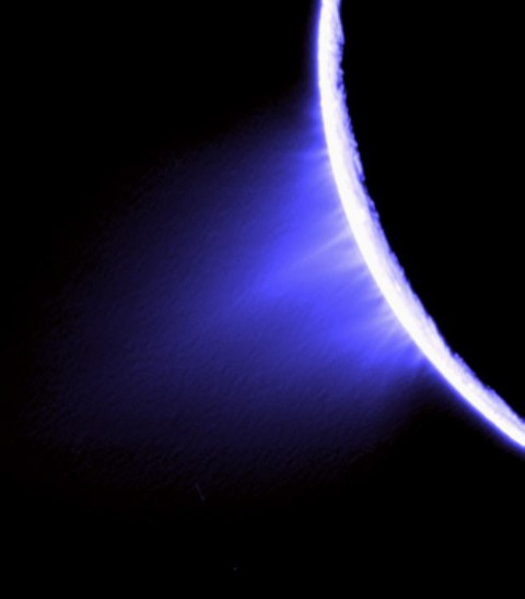 Image of Enceladus from Cassini. Credit: NASA/JPL/Space Science Institute