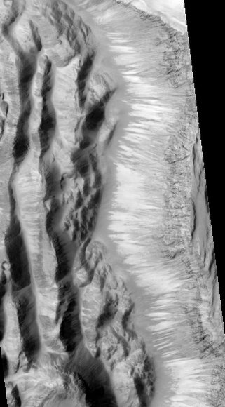 HiRISE image from Shalbatana Vallis. Credit: NASA/JPL/ U of AZ