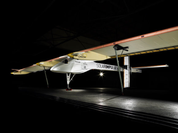 The HB-SIA.  Credit:  Solar Impulse
