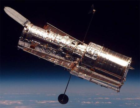 The Hubble Space Telescope. Credit: NASA