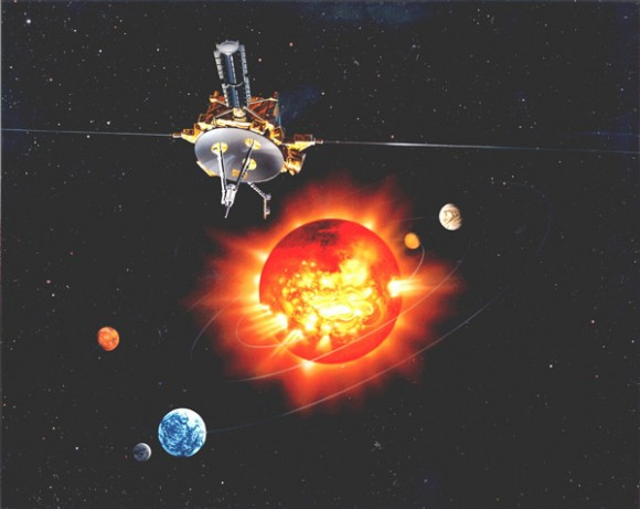 Artist impression of the Ulysses spacecraft. Credit: NASA/ESA