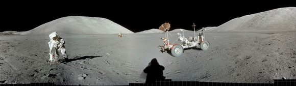Gigapan from Apollo 17. Credit: Gigapan