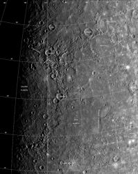 Caloris Basin on Mercury