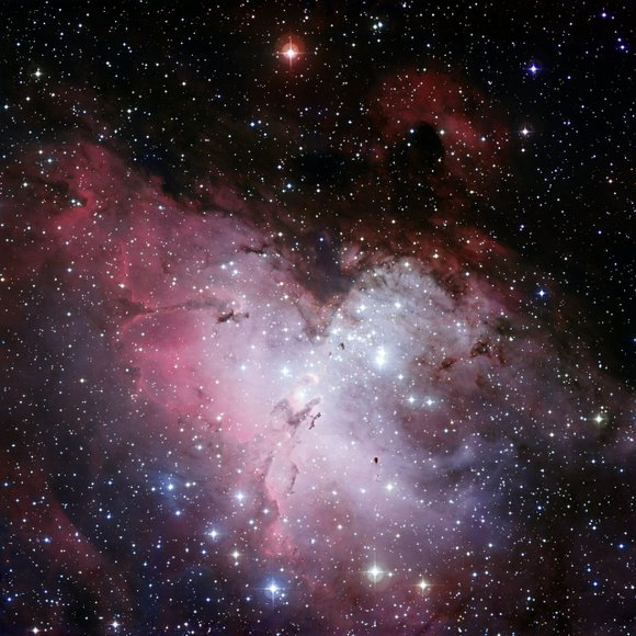 Eagle Nebula, courtesy of the European Southern Observatory