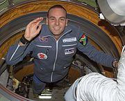 Mark Shuttleworth a South Afrcan space tourist
