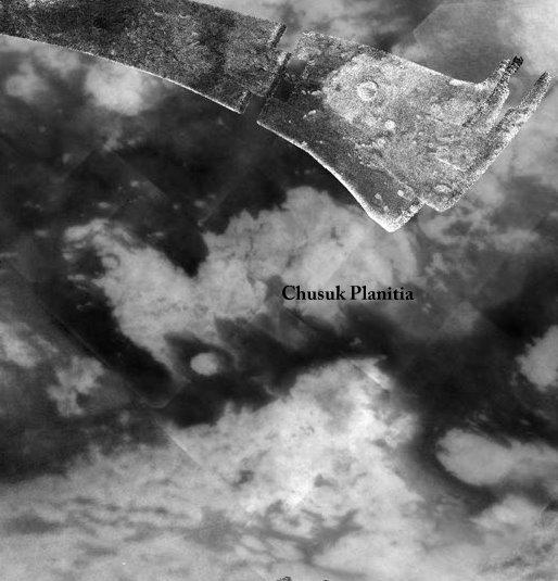 Chusuk Planitia on Titan.  Credit: USGS