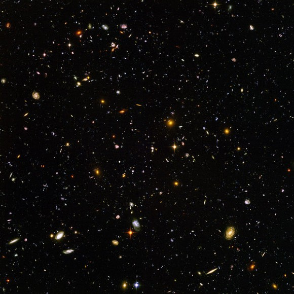 Hubble Deep Field. Credit: NASA