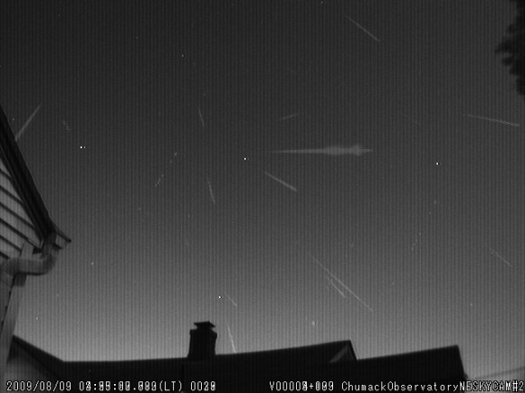2009 Perseid Meteor Shower Preview by John Chumack
