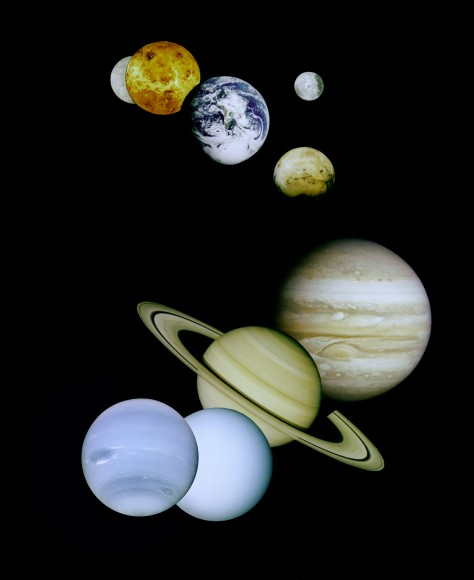 Planet Size Comparison
