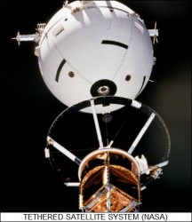 tethered satellite experiment