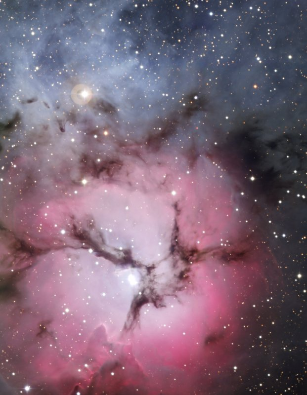 The Trifid Nebula.  Credit:  ESO