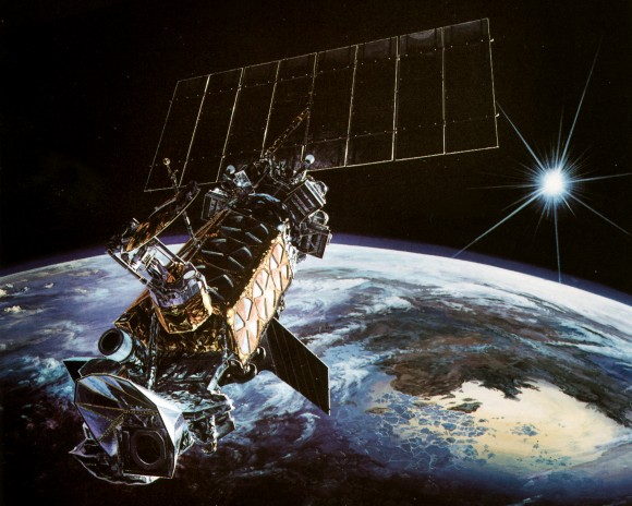 Lockheed DMSP satellite