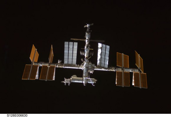 The ISS. Credit: NASA