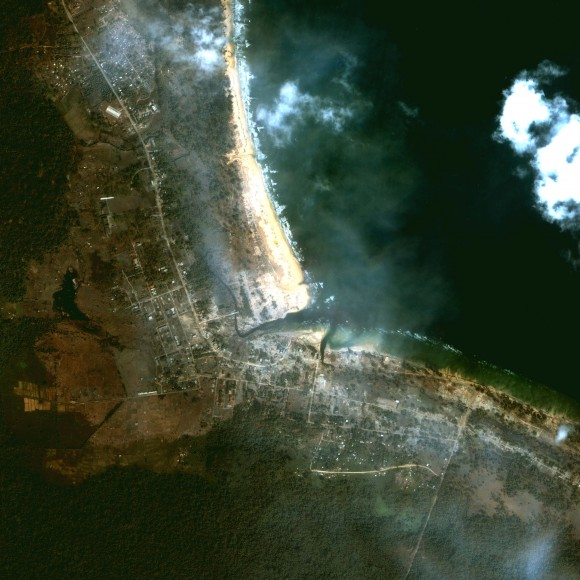 Damage to Andaman Island