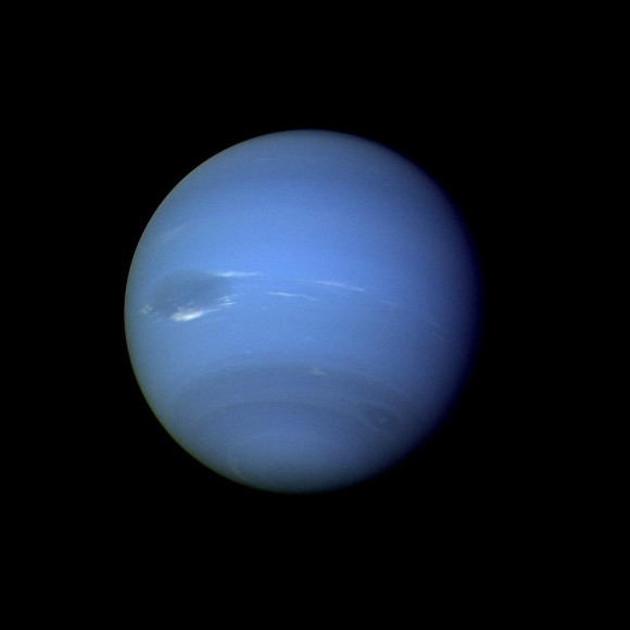 Neptune's Distance From the Sun