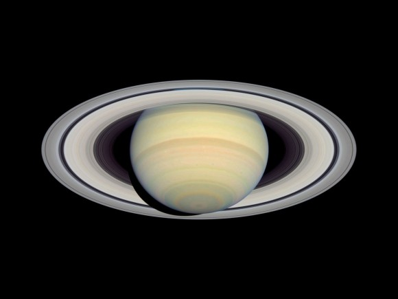 Saturn's Distance From the Sun