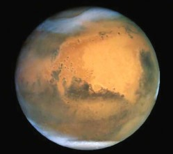 How Big is Mars