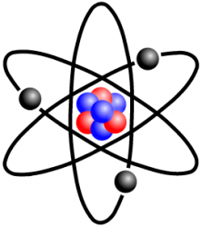 Stylised Lithium Atom by Halfdan