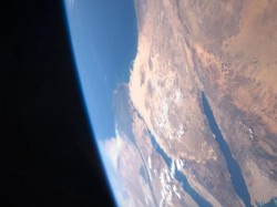 Earth picture from space