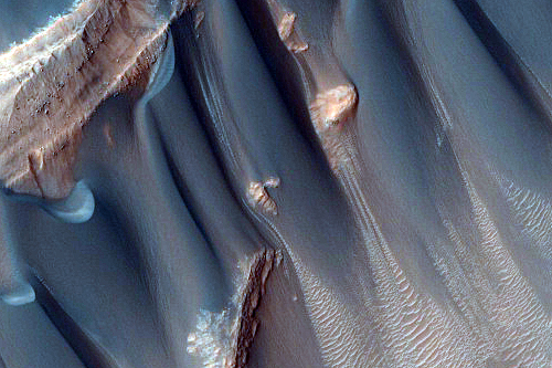 Dunes in the Western Nereidum Montes. Credit: NASA/JPL University of Arizona