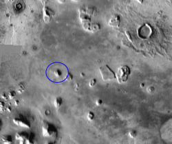 Google Maps03 -Cydonia Region under infrared light