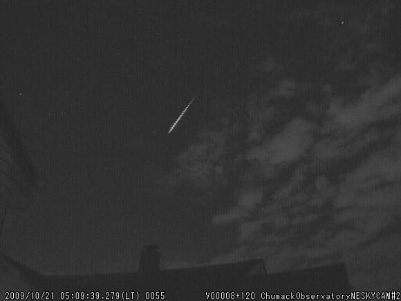 2009 Orionid Meteor by John Chumack