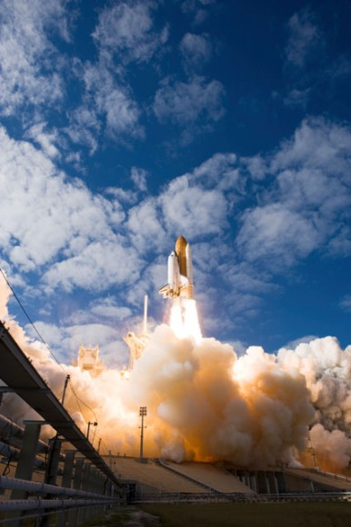 Launch of Atlantis on Nov. 16, 2009. Credit: NASA