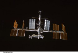 ISS.  Credit: NASA