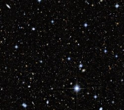 This deep-field image from CFHT contains 500,000 galaxies.
