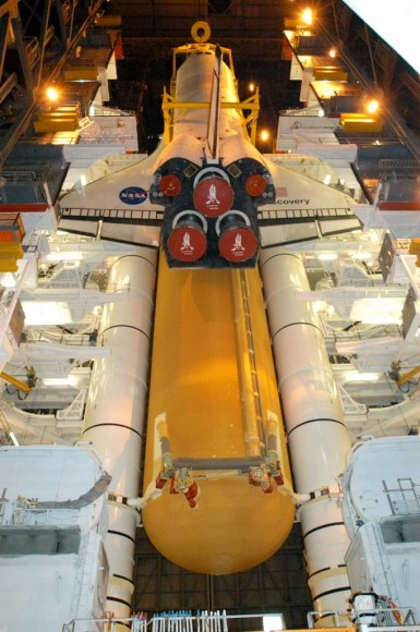  Image of New Space Shuttle Tank