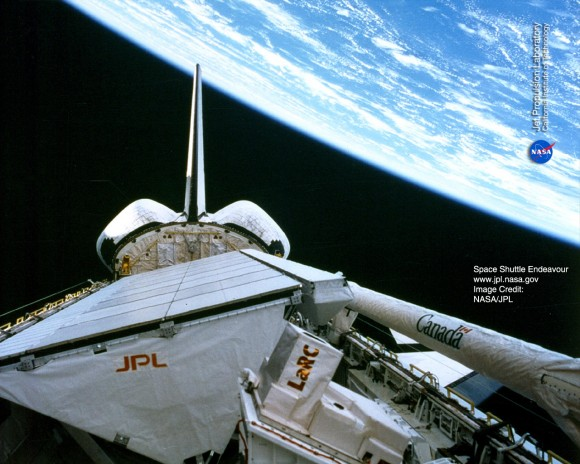 Onboard View - Space Shuttle Endeavour