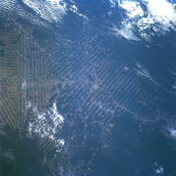 Deforestation Picture from Space