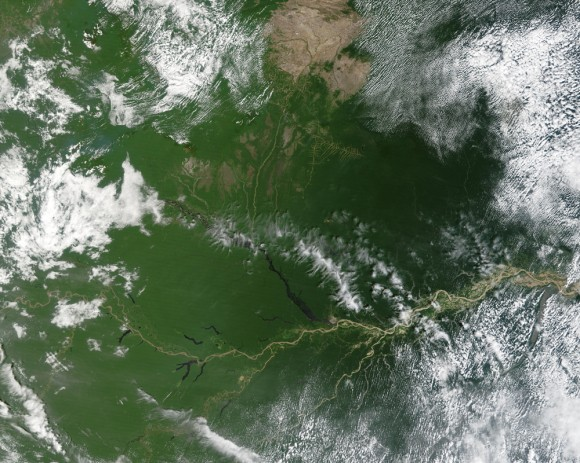 Fires In The Amazon Basin