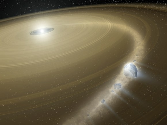 Comets Could Arise Closer To Earth, Study Suggests
