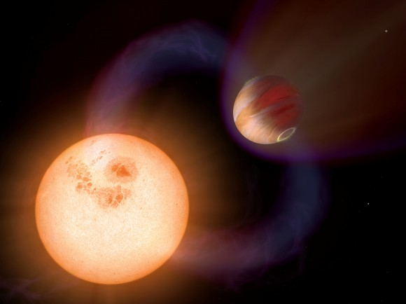 Extrasolar Planets Far Across Galaxy