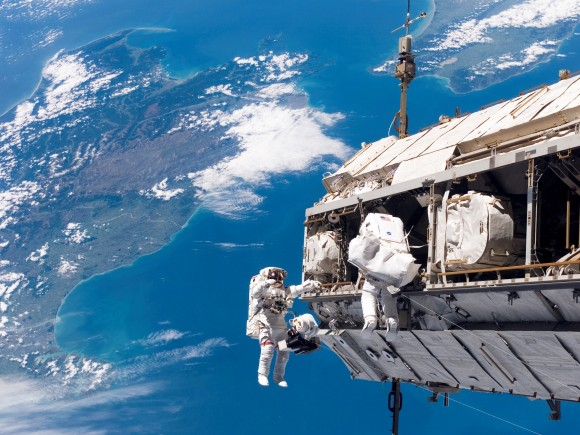 Pictures of Astronauts in Space