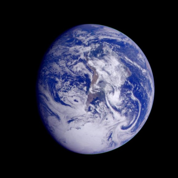 Earth - South America (first frame of Earth Spin Movie)