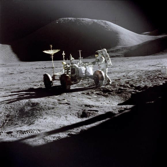 Pictures of Moon Landing
