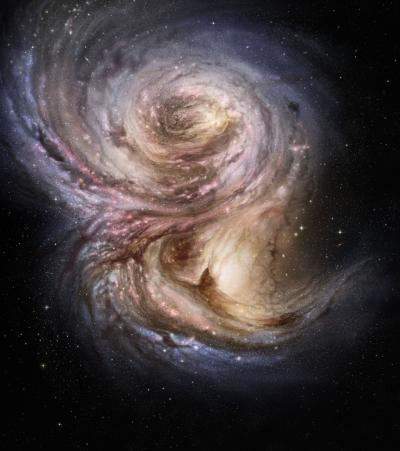 """Galaxies in Early Universe Experienced """"Growth Spurt"""""""