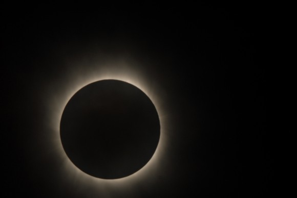Solar Eclipse as seen by Hinode Satellite2