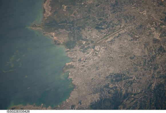 Space Station Views of Haiti