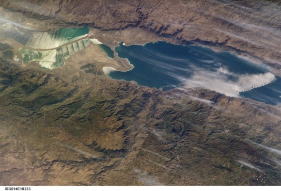 Dead Sea image by Expedition 14