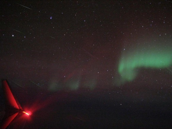 Meteors and Aurora