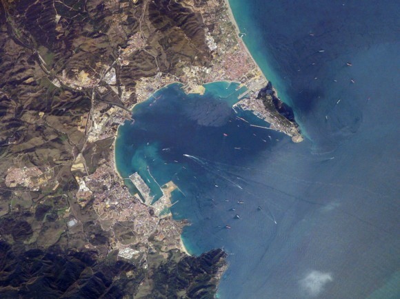 Gibraltar Bay, Western Mediterranean Sea