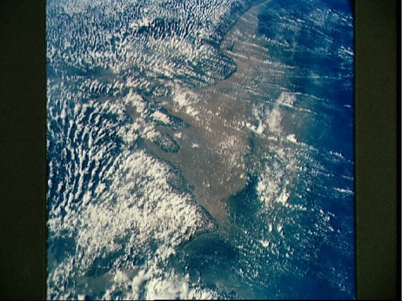 Mouth of the Amazon River as seen from STS-58