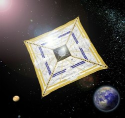 IKAROS - solar sail from Jap