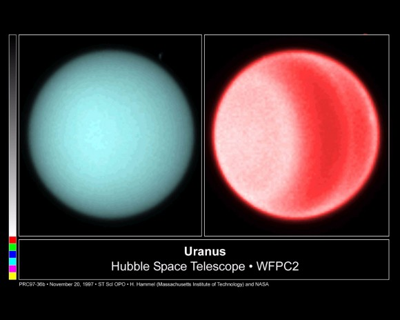 Clouds on Uranus