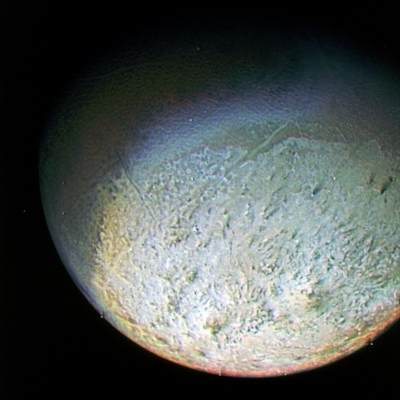 Pictures of Neptune's Moons