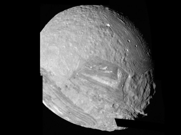 Pictures of Uranus Moons