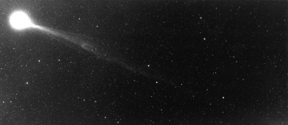 Another view of Comet Halley